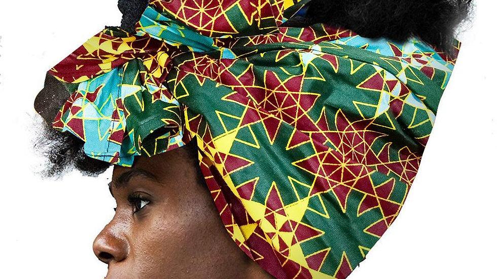 African Headwrap Hair Accessories Scarf Turban Hair Accessories  Headwrap