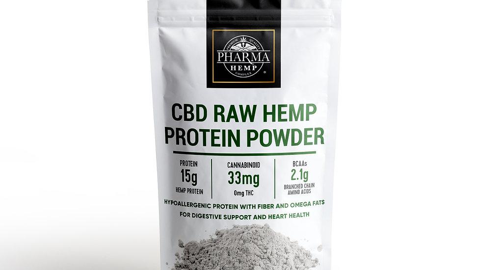 CBD Raw Hemp Protein Powder
