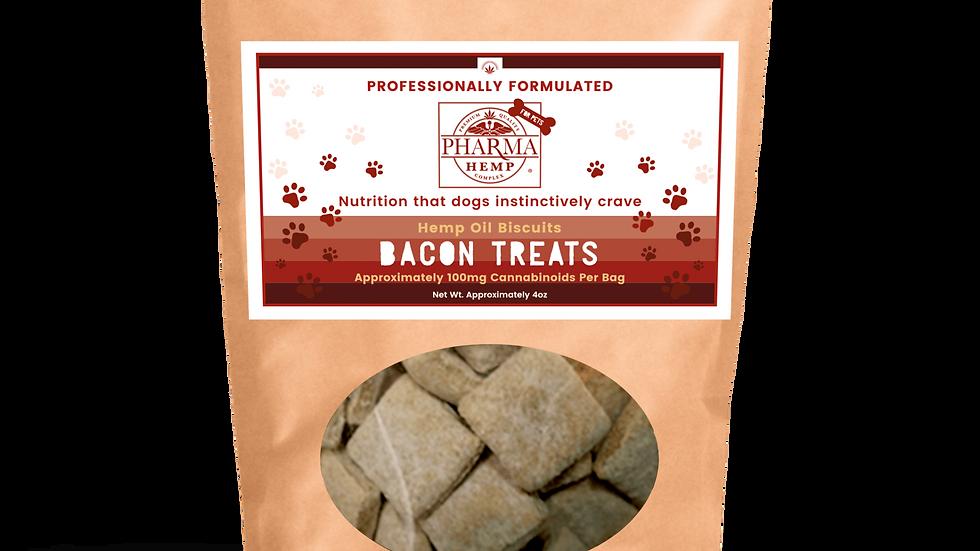 CBD Bacon Dog Treats