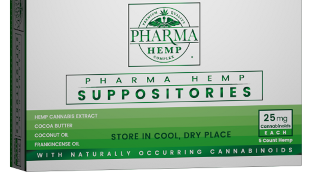 Hemp CBD Suppositories 25mg