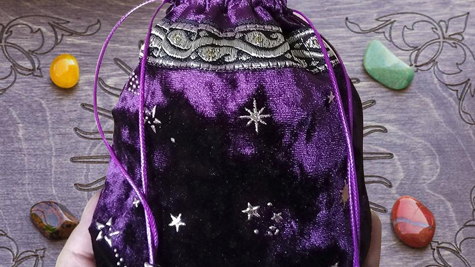 13x18CM Tarot Oracle Card  Bag  Fortune-Telling  Thick Velvet Bag