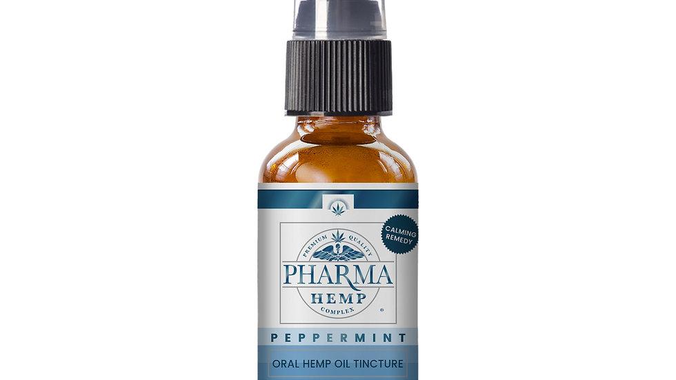 Full Spectrum CBD Oil Tincture 2oz Peppermint