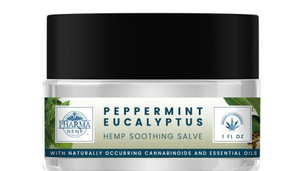 Peppermint Eucalyptus Hemp Soothing Salve