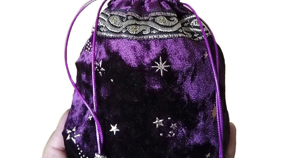Tarot Oracle Card Fortune-Telling  Storage Bag Thick Velvet