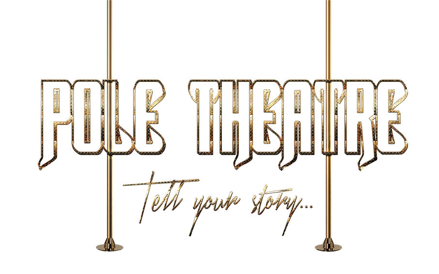 Clear pole theatre logo - no background.