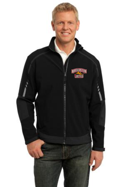 Northeastern Black Jacket