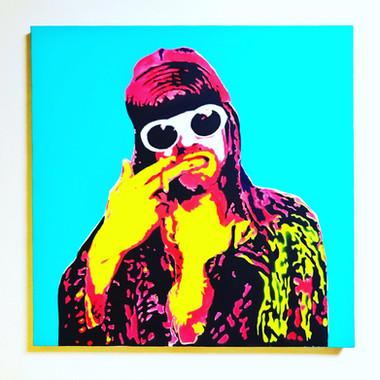 kurt cobain / Blue