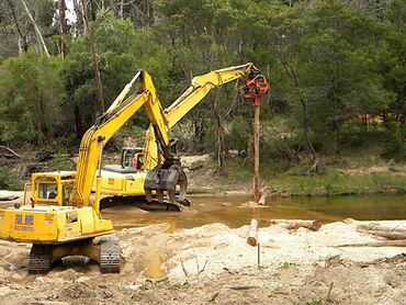 Earth Construction, Quarry, Plant Hire, Cann River, Excavator, Dozer