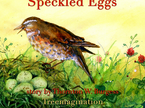 Shiva Rose Reads Ms Redwings Speckled Eggs