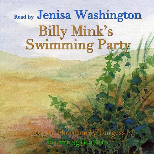 Jenisa Washington Reads Billy Minks Swimming Party