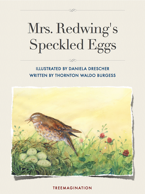 Mrs Redwings Speckled Eggs