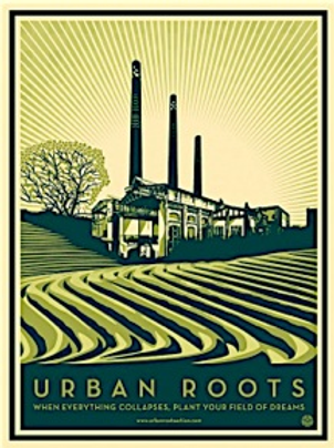 Shepard Fairey Urban Roots AP Poster