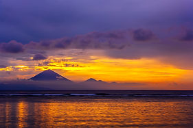 INDONESIA Mount Batur at sunrise iStock-