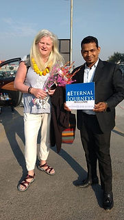 Pamela Grinter arrival in Delhi.jpg