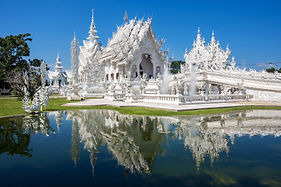 THAILAND Chiang Mai White Temple iStock-
