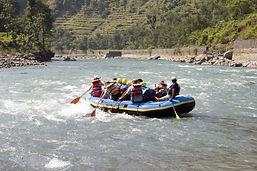 NEPAL WHITE WATER RAFTING iStock-1160200