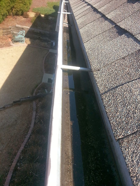 Rain Gutters and Down spouts