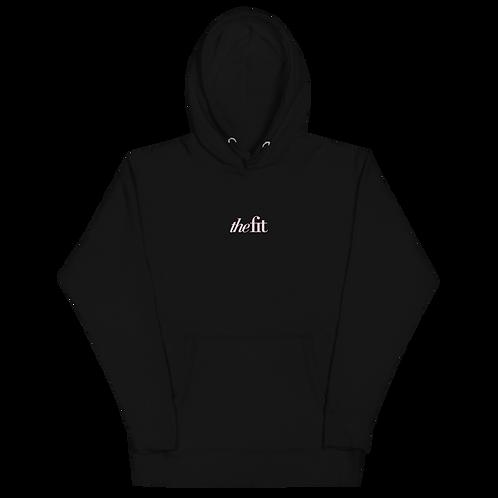the fit Black Unisex Hoodie