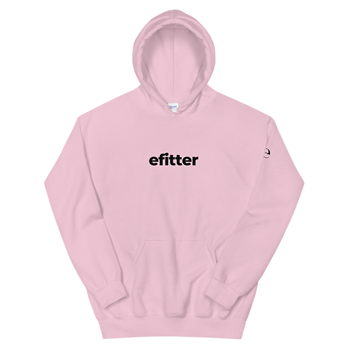 efitter Pink Unisex Hoodie