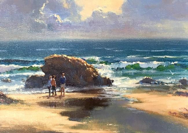 Quiet Afternoon at Beach