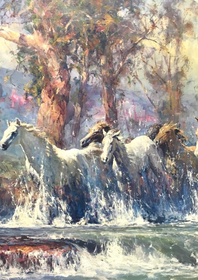 Horses Crossing