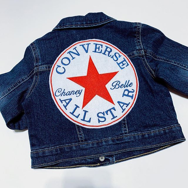 Custom Denim Jacket (Converse Inspired)_