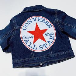 Custom Denim Jacket (Converse Inspired)_