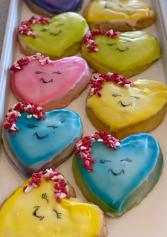 Happy Heart Sugar Cookie