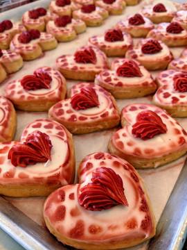Heart Shaped Sugar Cookie