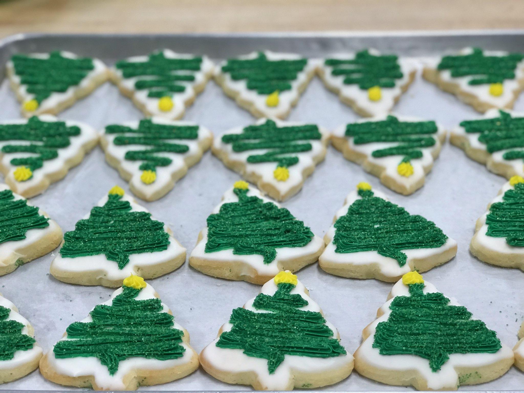 Christmas Tree Sugar Cookie $2.75