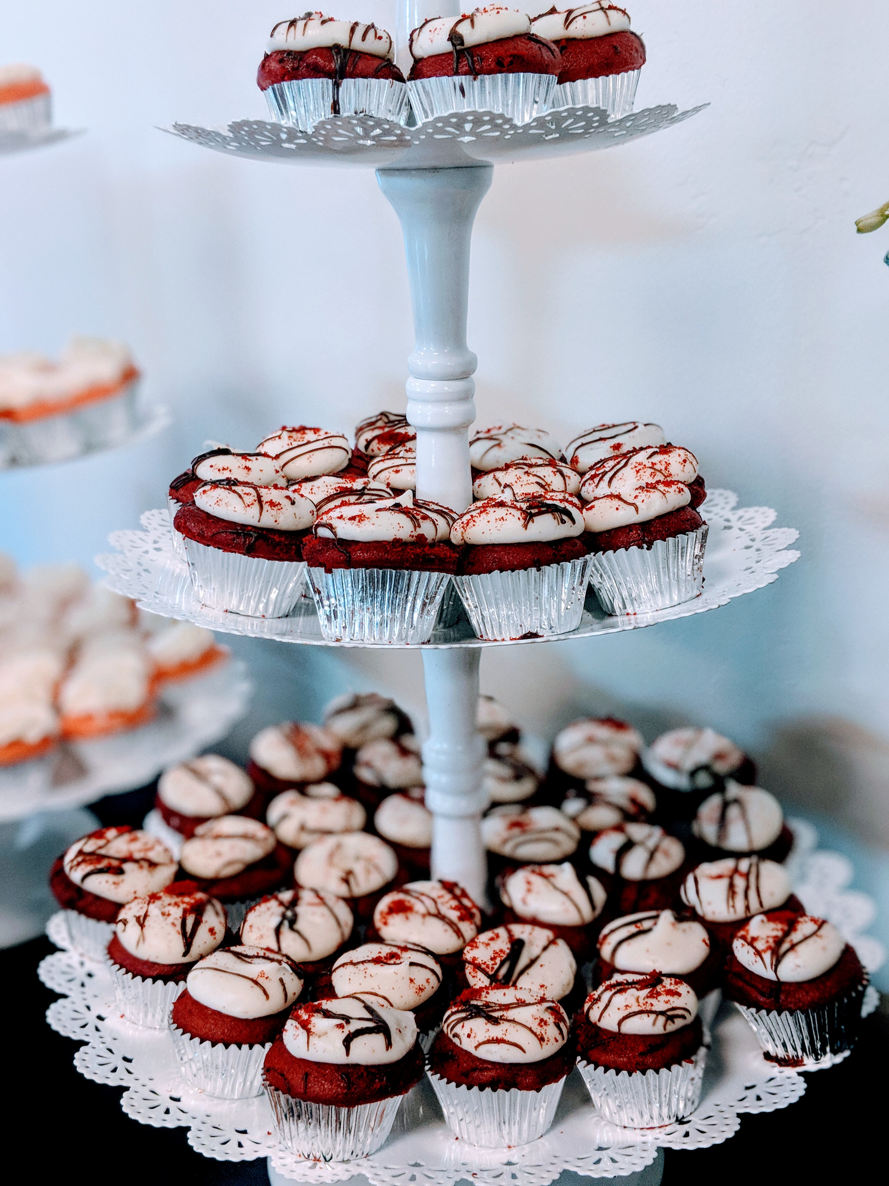 Mini Red Velvet Cupakes