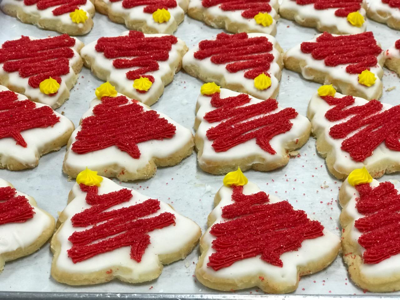 Christmas Tree Sugar Cookie 2.75
