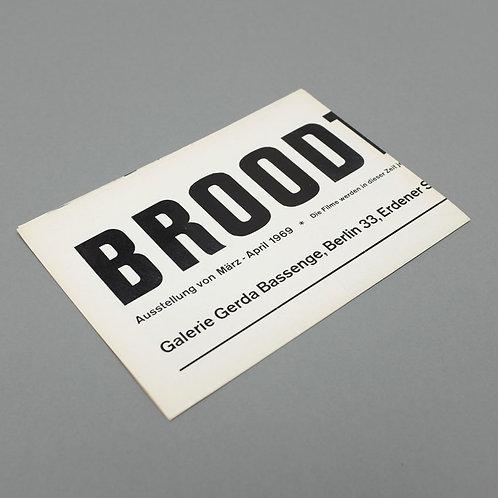 Affiche de Marcel Broodthaers, 1969