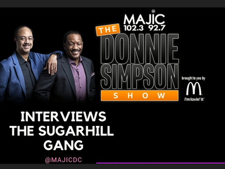 Master Gee & Wonder Mike Join Donnie Simpson & Tony Perkins on MAJIC 102.3