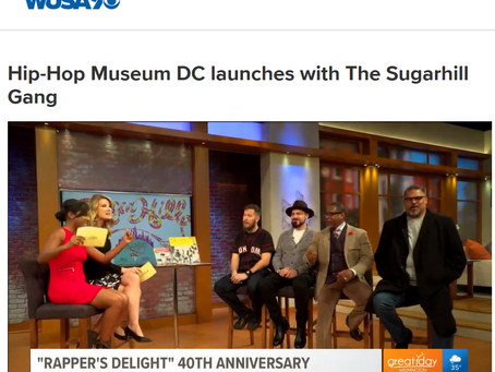 Hip-Hop Museum DC Launches with Sugarhill Gang