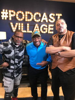 Master Gee w/Donnie Simpson & Wonder Mike at Podcast Village