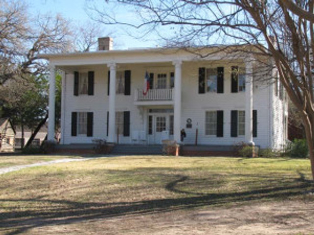 The Millermoore mansion at Dallas Heritage Village.