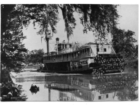 Paddle Wheelers on the Red, part I