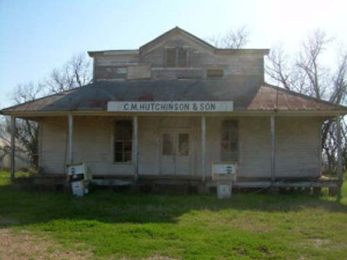 Abandoned Store in Hutchinson