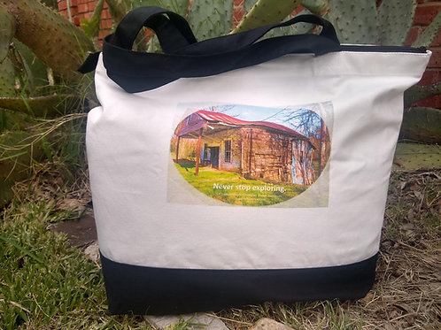 Tote: Never Stop Exploring