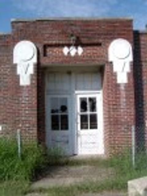 Dougherty school door