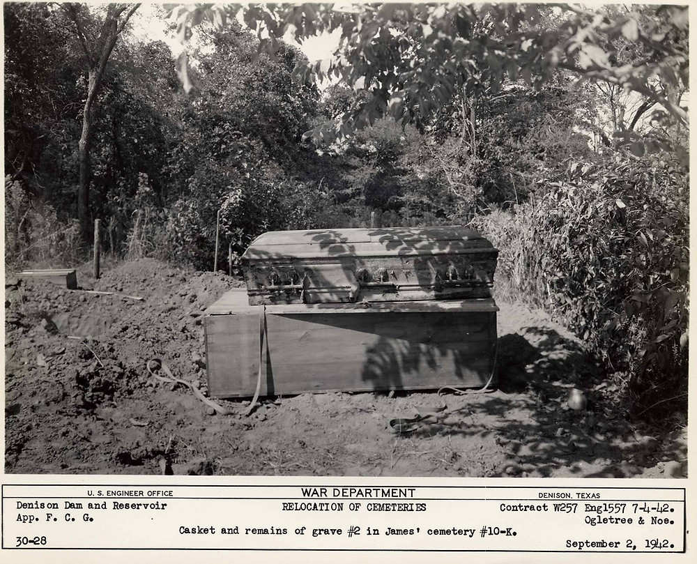 James Cemetery Bryan County