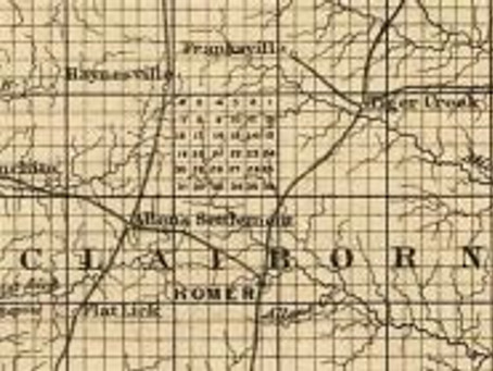 Antebellum Ghost Towns and the Railroads that did them in