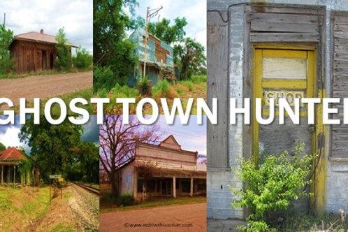 Sticker: Ghost Town Hunter