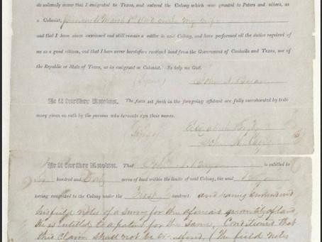 Dallas founding document