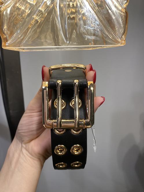 Cintura 2 borchia oro