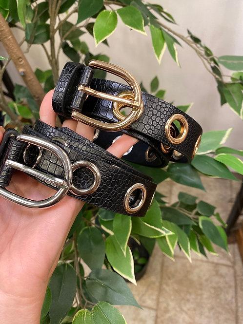 Cintura borchia