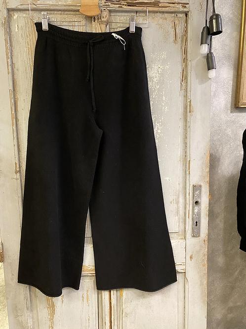 Pantaloni in maglia a palazzo