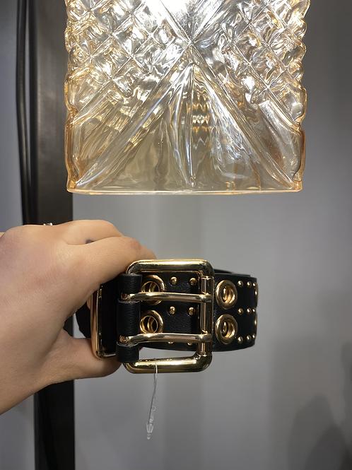 Cintura borchiata oro