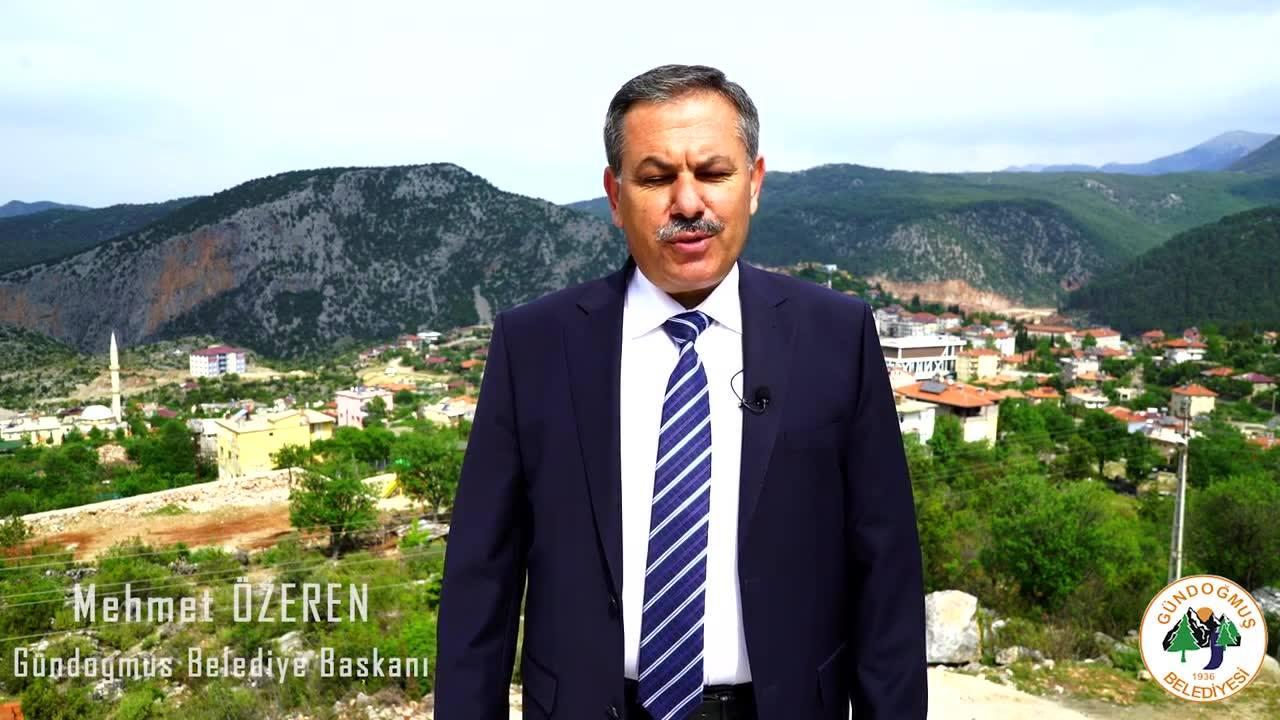Gündoğmuş Belediye Başkanı ''Mehmet Özeren'' Faliyet Filmi